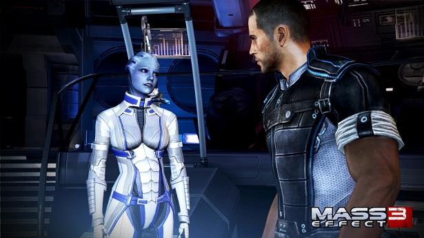 """You and I are going to have sex at the end of this game! Why? Well, that's romance. Two attractive people having sex is romance. I have romance flowing from my pores right now, Liara."""