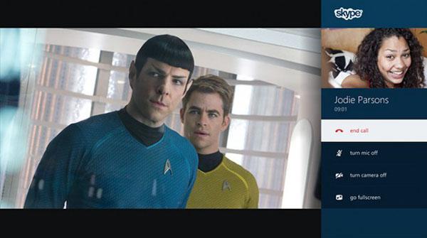 Xbox One Star Trek - Skype