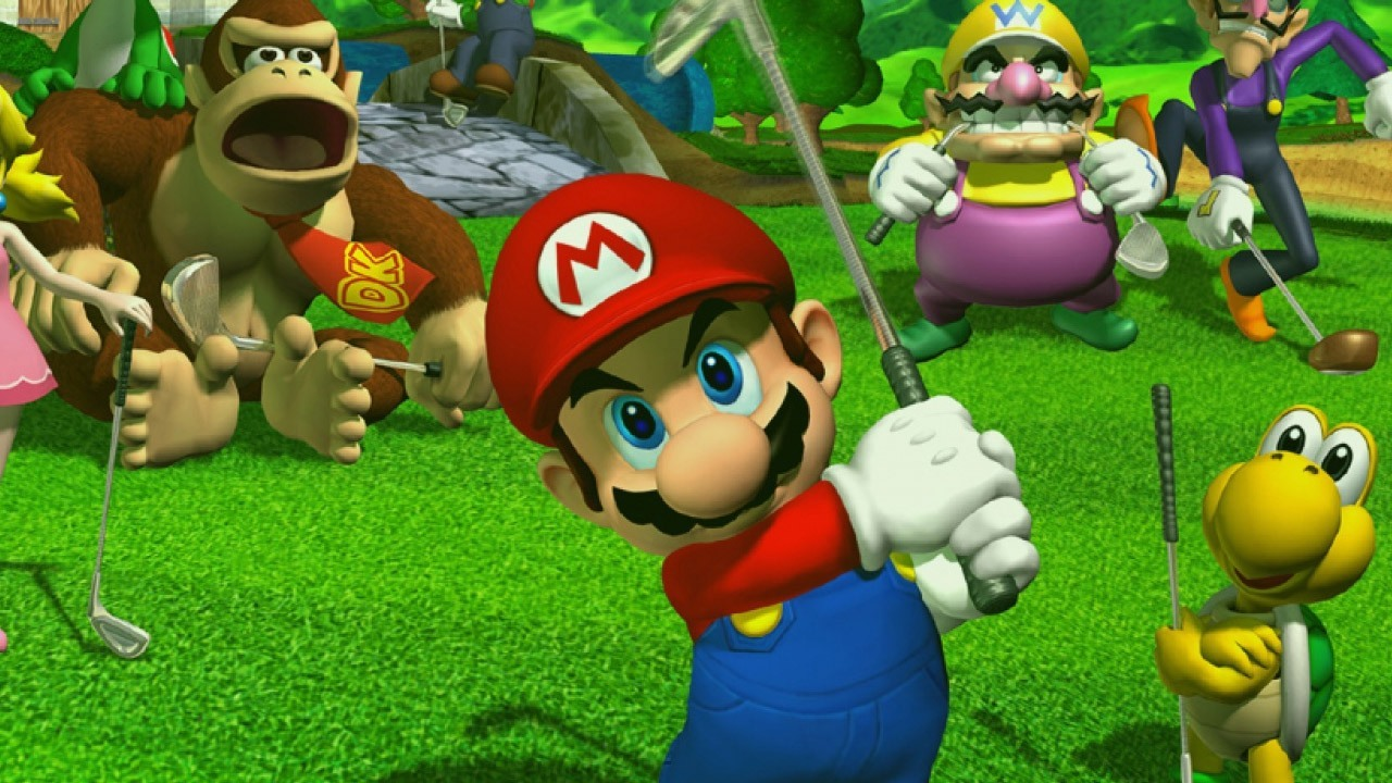 Mario Golf Toadstool Tour Darkstation