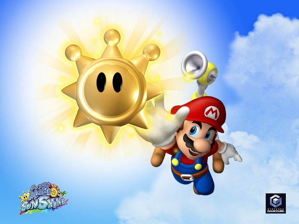 Super Mario Sunshine Darkstation