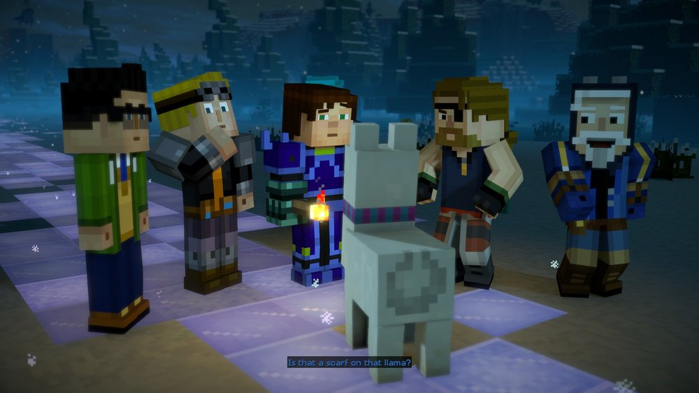 minecraft story mode season 2 cast