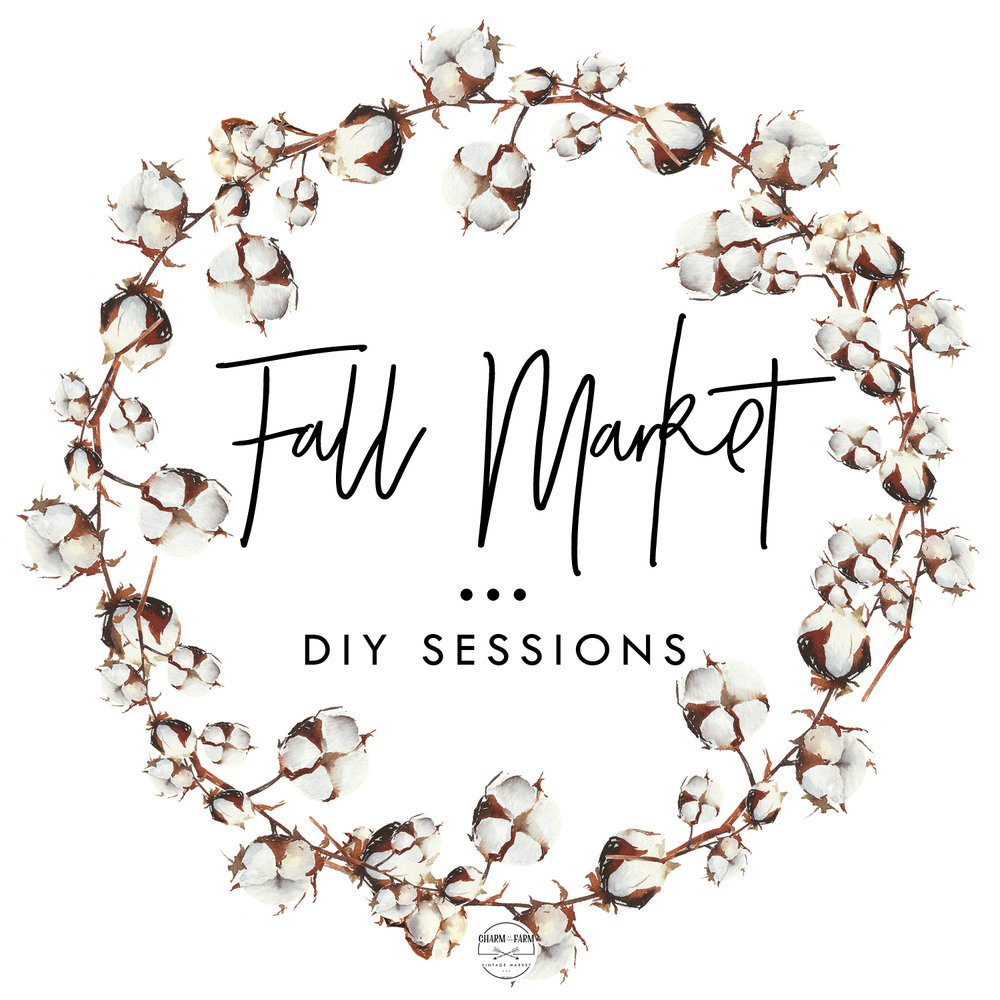 DIY s e s s i o n s - FIVE different DIY sessions to choose from!! Grab your besties and make a day of shopping + creating + yummy food! Get your ticket NOW to secure your spot! Limited seats available in each session!