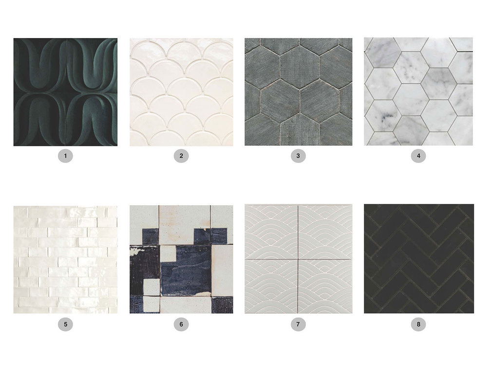 Solid & Neutral Tiles