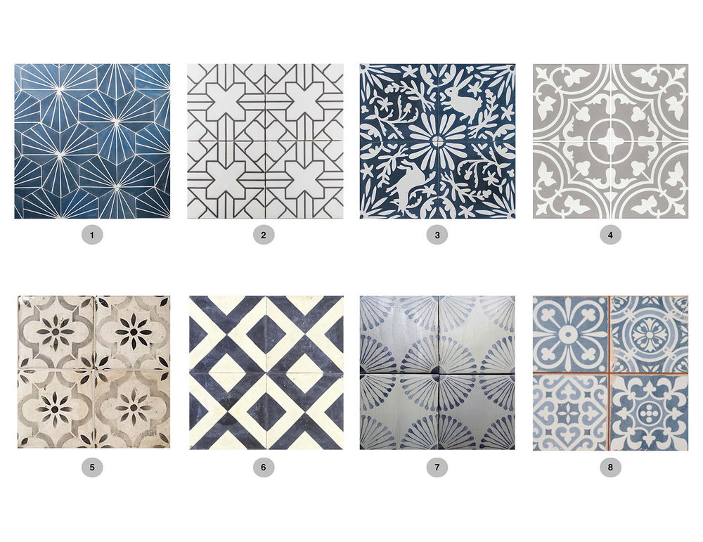 Bold & Patterned Tiles