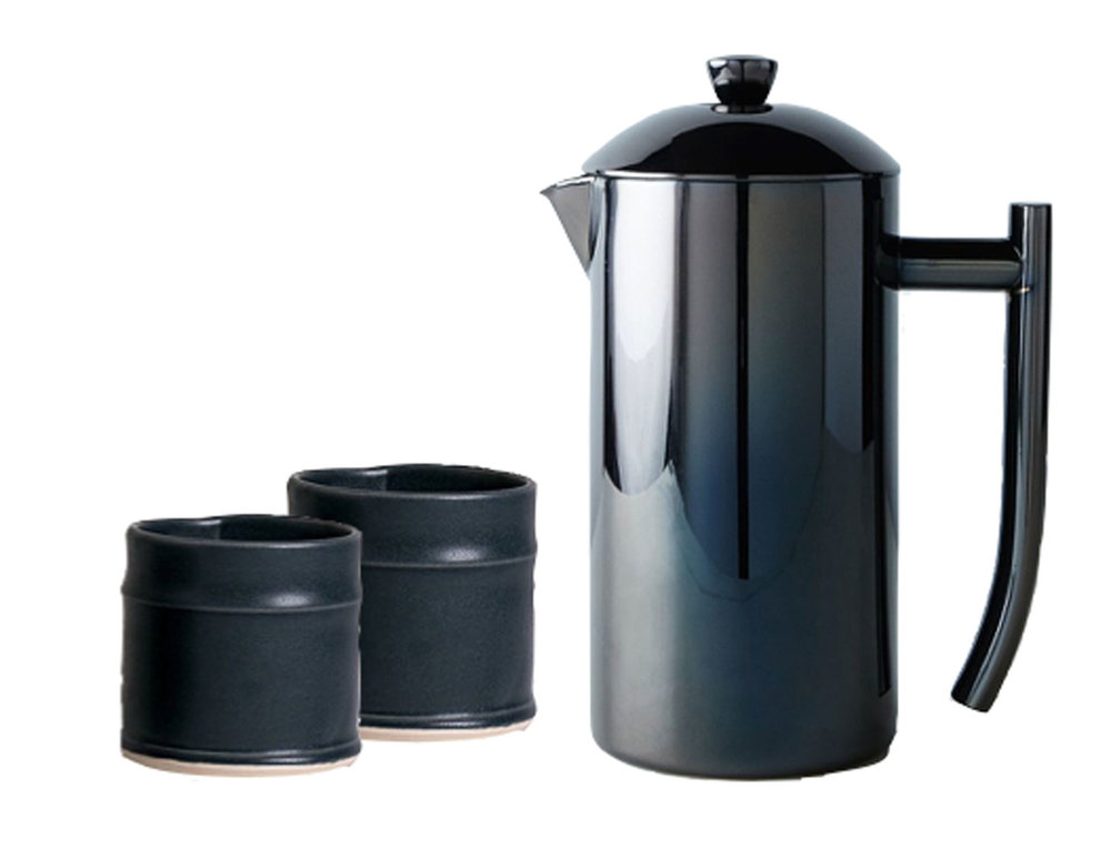 Black Double-walled French Press