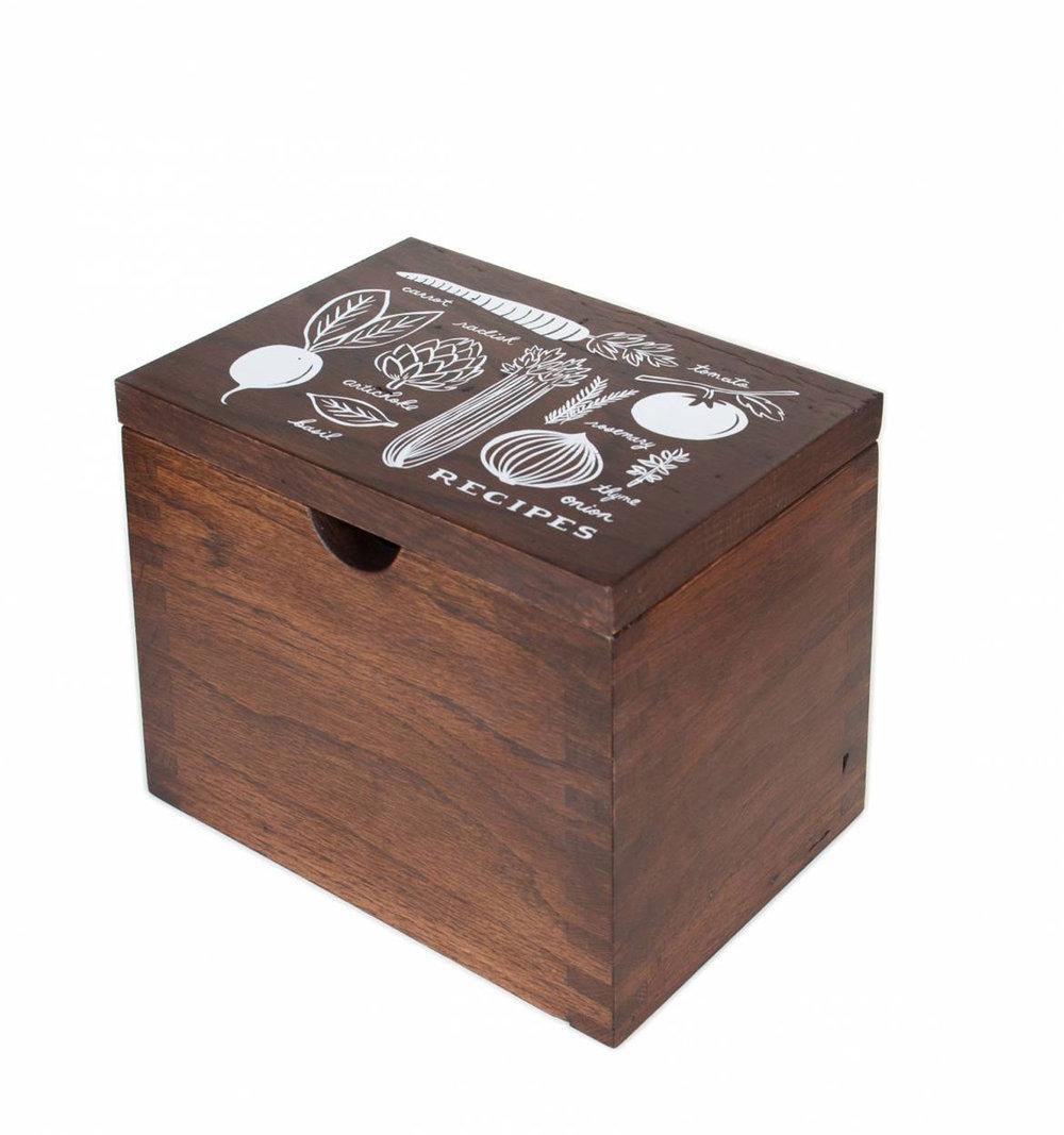 Rifle Paper Co - Heirloom Garden Recipe Box
