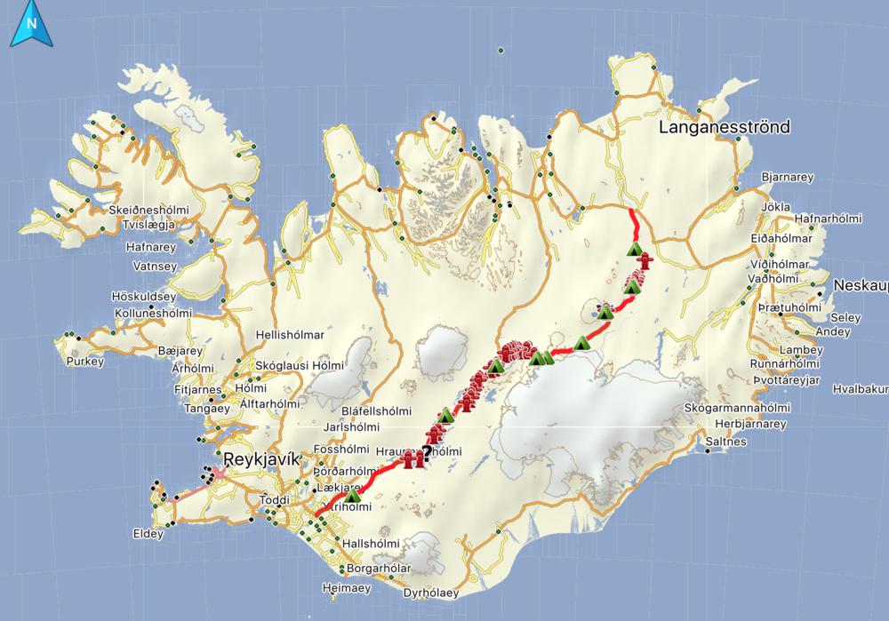Départ: 16.03.16 (Cliquez sur la photo pour voir itinéraire).
