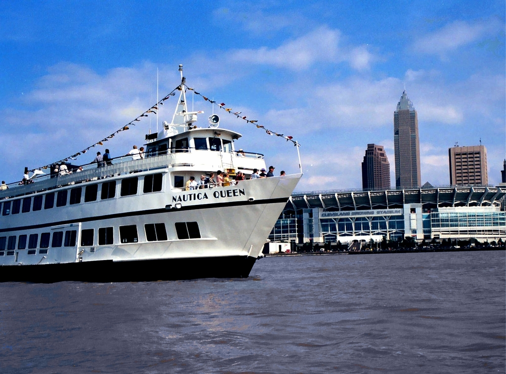 Nautica Queen with Cleveland Browns Stadium.jpg