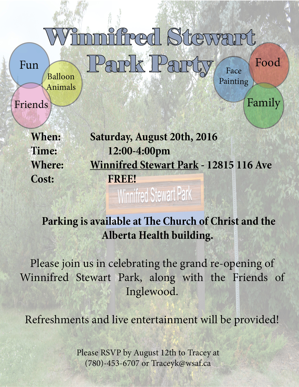 Park Party Invitation