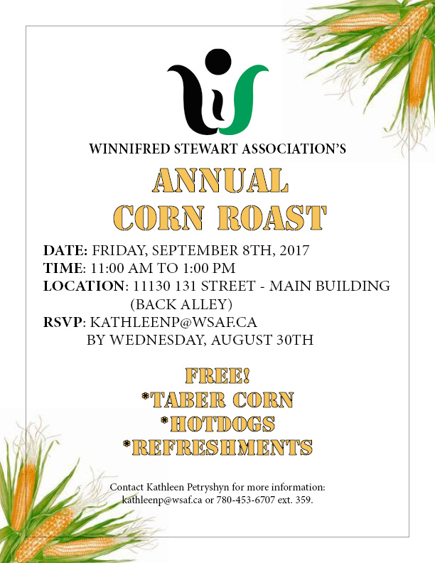 Corn Roast Invitation