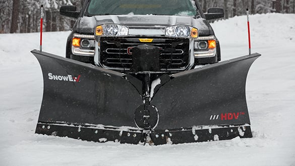 HDV heavy-duty V-plows