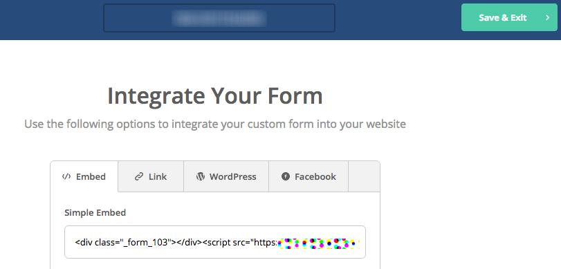 Integrate your activecampaign form with Squarespace