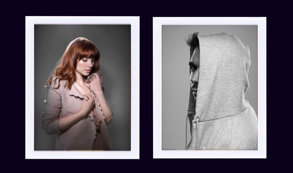 Bryce Dallas Howard and DJ AM shot by Patrick Hoelck