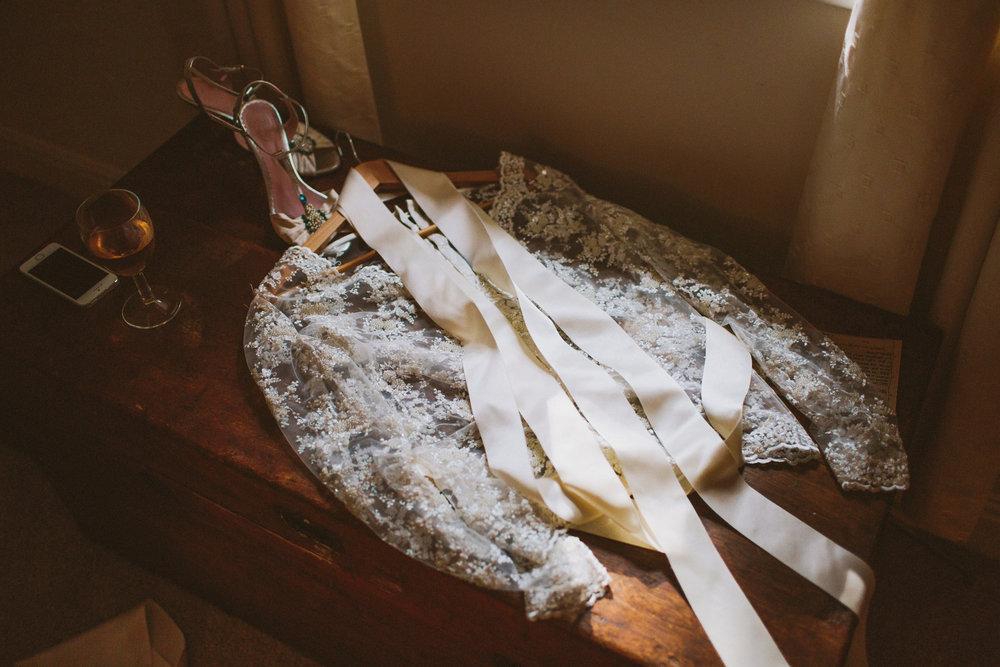 Jo-Peak-District-Autumn-Wedding-Bespoke-Vintage-Bias-Wedding-Gown-Lace-Jacket-Susanna-Greening-Matlock-4