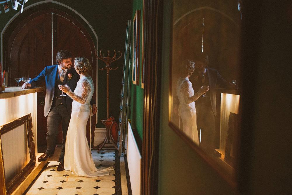 Jo-Peak-District-Autumn-Wedding-Bespoke-Vintage-Bias-Wedding-Gown-Lace-Jacket-Susanna-Greening-Matlock-13