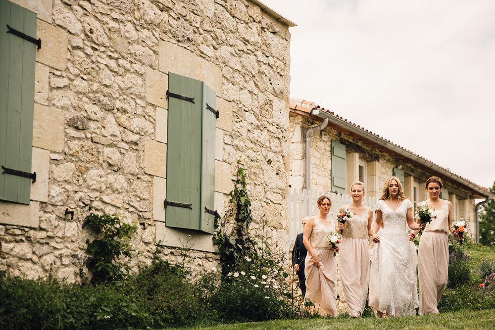 Hannah-Bespoke-Bridesmaids-Bohemian-French-Wedding-Gold-Lace-Susanna-Greening-Designs-Matlock-Derbyshire-3