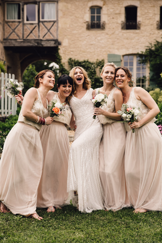 Hannah-Bespoke-Bridesmaids-Bohemian-French-Wedding-Gold-Lace-Susanna-Greening-Designs-Matlock-Derbyshire-20