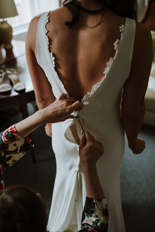 Katt-Scotland-Comrie-Crieff-Bias-Crepe-Wedding-Gown-Lace-Bridal-Biker-Jacket-Bespoke-Susanna-Greening-Derbyshire-7