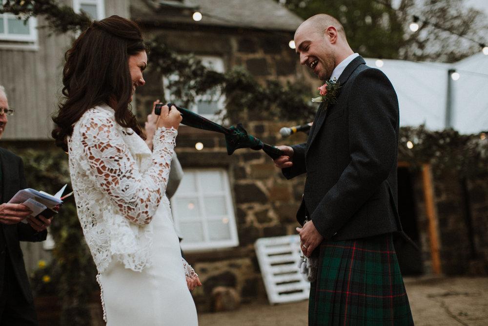 Katt-Scotland-Comrie-Crieff-Bias-Crepe-Wedding-Gown-Lace-Bridal-Biker-Jacket-Bespoke-Susanna-Greening-Derbyshire-12