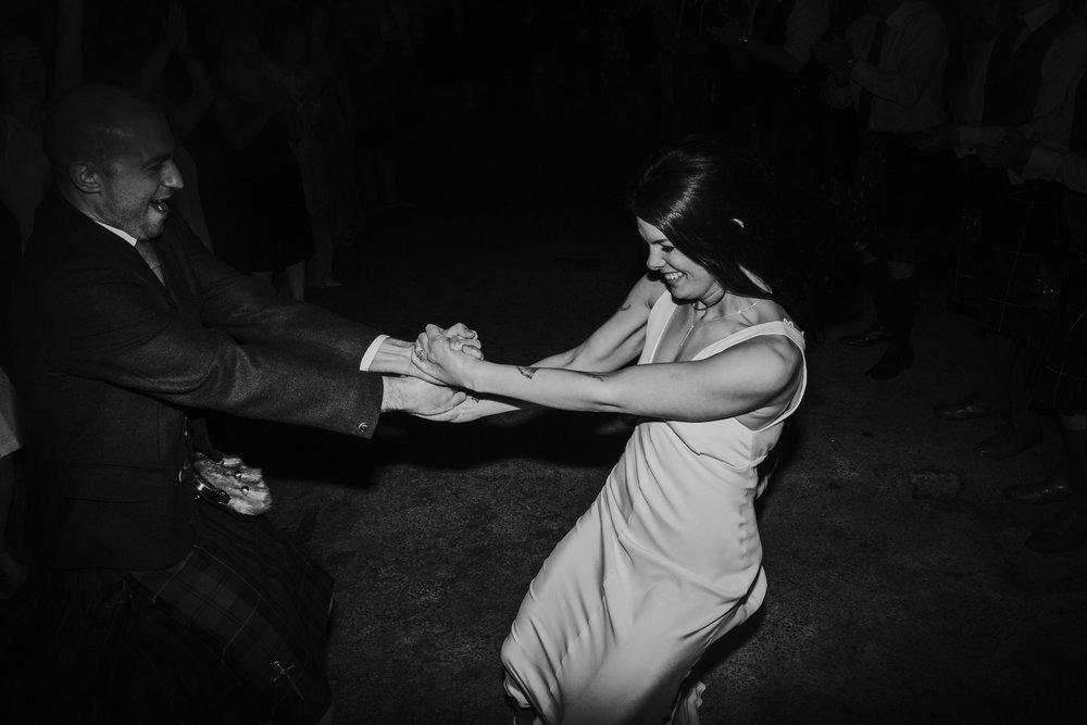 Katt-Scotland-Comrie-Crieff-Bias-Crepe-Wedding-Gown-Lace-Bridal-Biker-Jacket-Bespoke-Susanna-Greening-Derbyshire-25