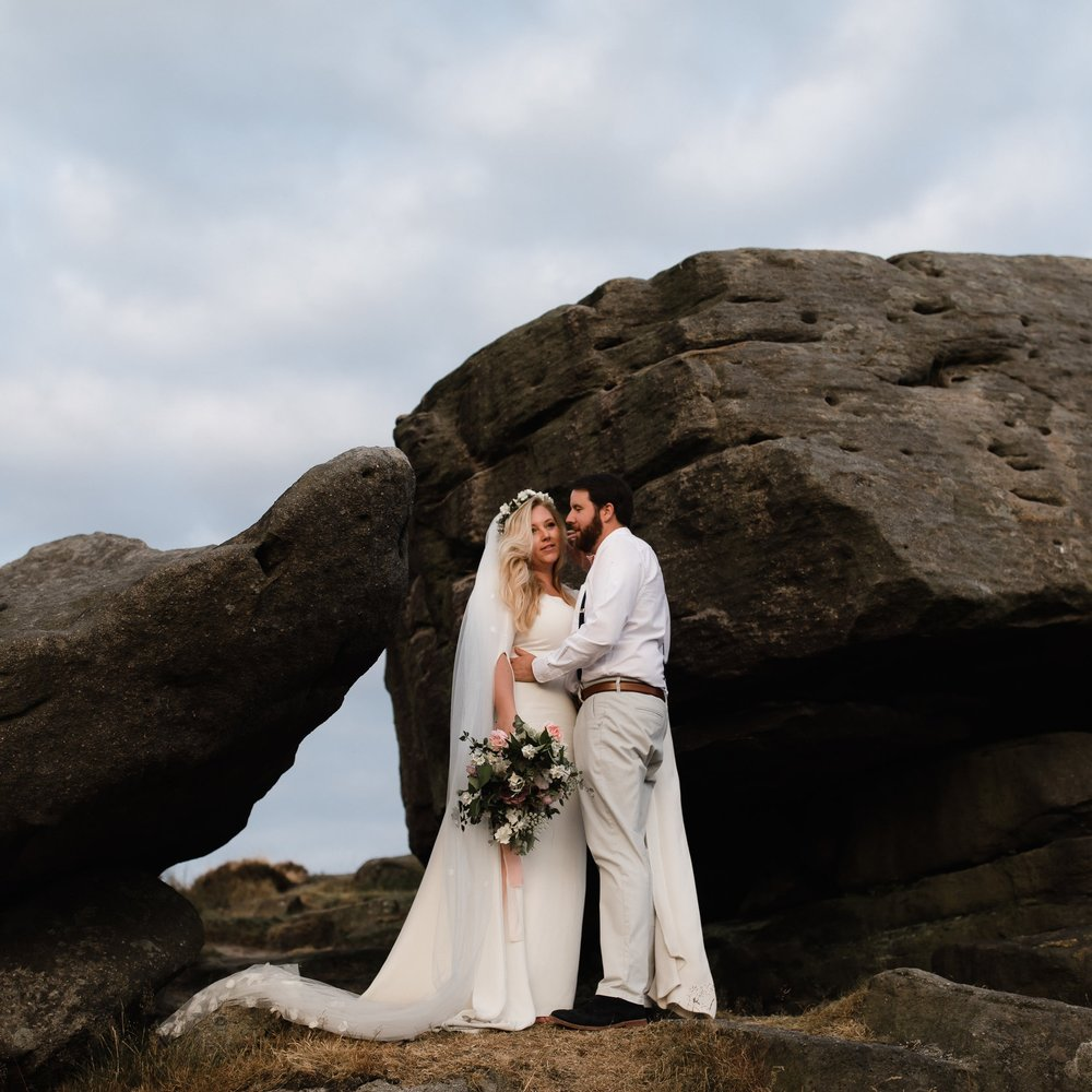 Real brides in their bespoke wedding dresses and bridal wear made to ...
