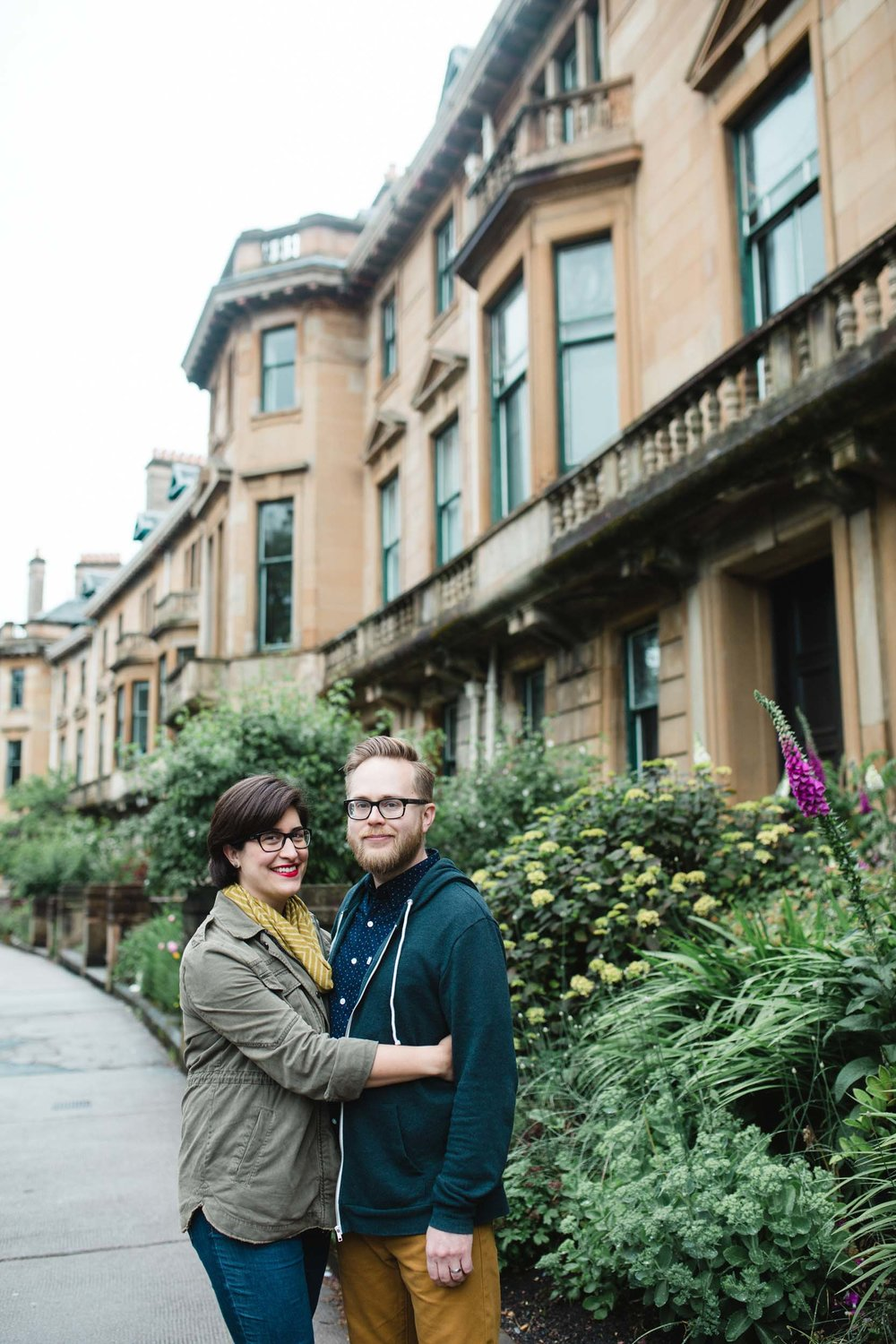 Photo credit:  Chantal & Scott  in Glasgow for  Flytographer