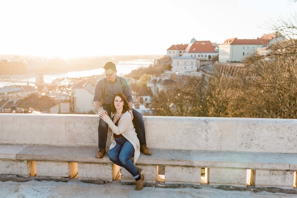 Budapest engagement photography