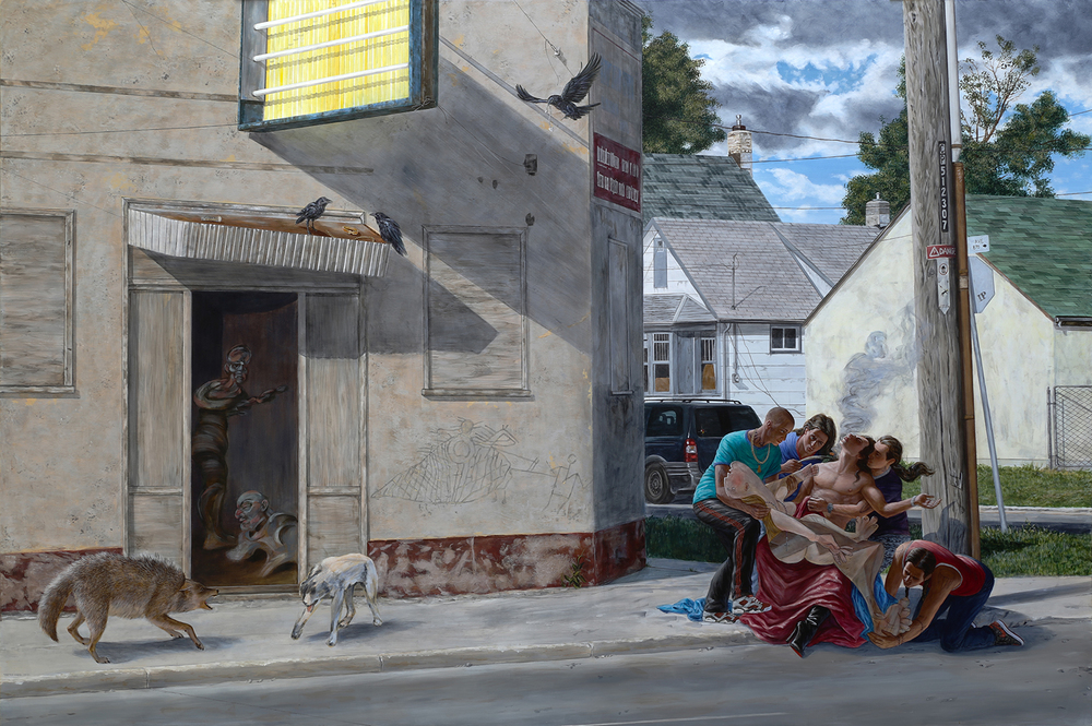 Kent Monkman, The Deposition, 2014