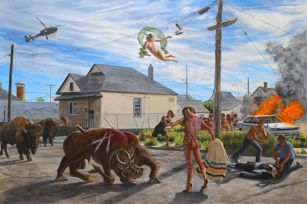 Kent Monkman, Seeing Red, 2014