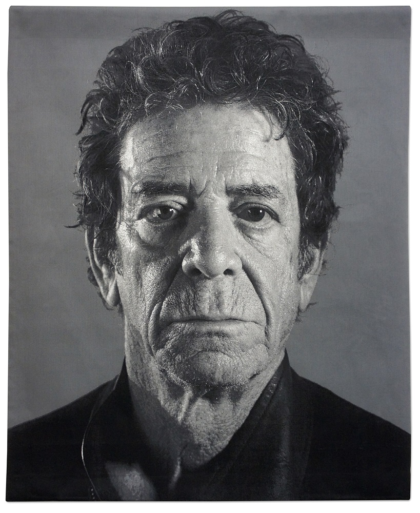 Chuck Close, Lou (Reed), 2011