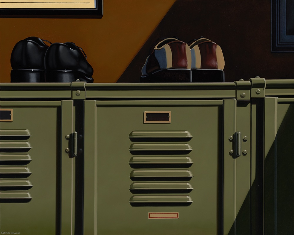 Kenton Nelson, While Recreating, 2014