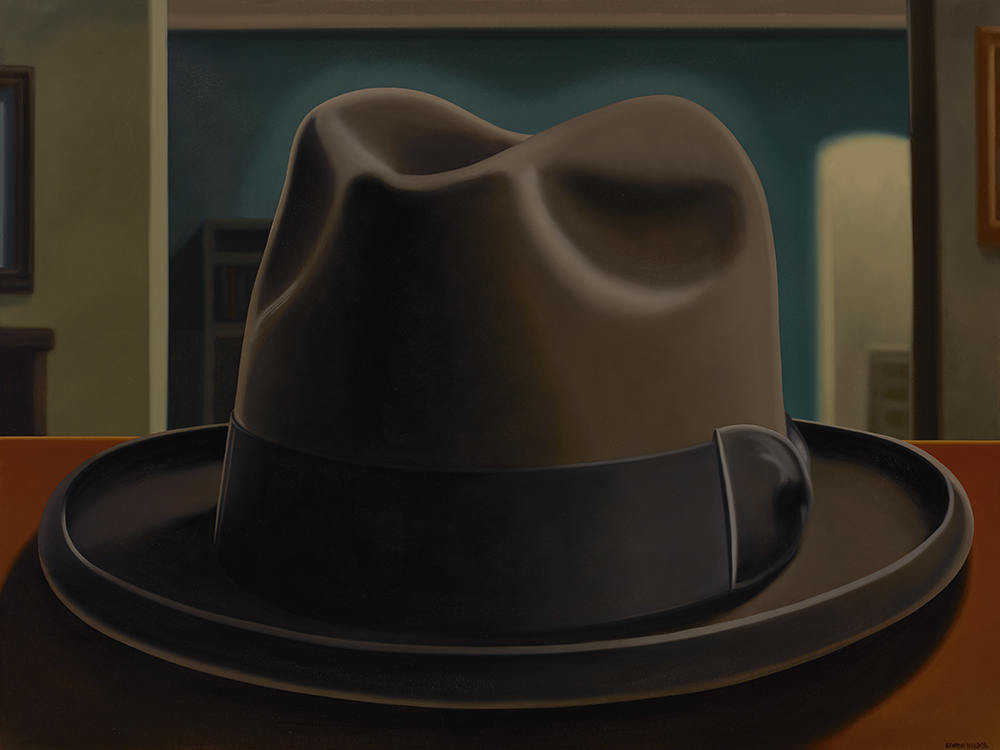 Kenton Nelson, A Hat for Mr. Harris, 2014