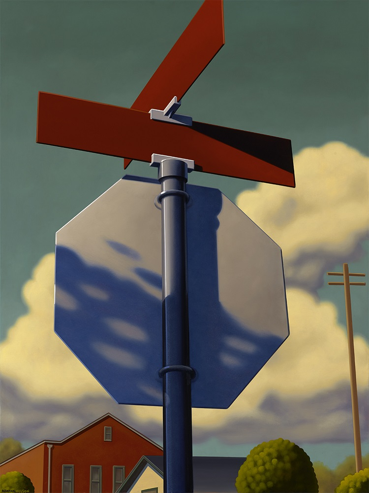 Kenton Nelson, A Long Wait, 2014
