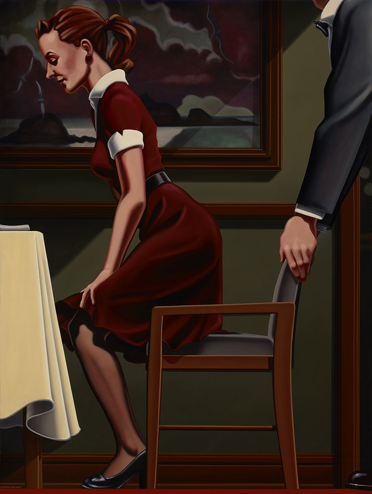 Kenton Nelson, Simple Manners, 2014