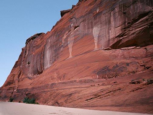 Bruce Conner, Angel Wall, Canyon De Chelley, 1976/2003