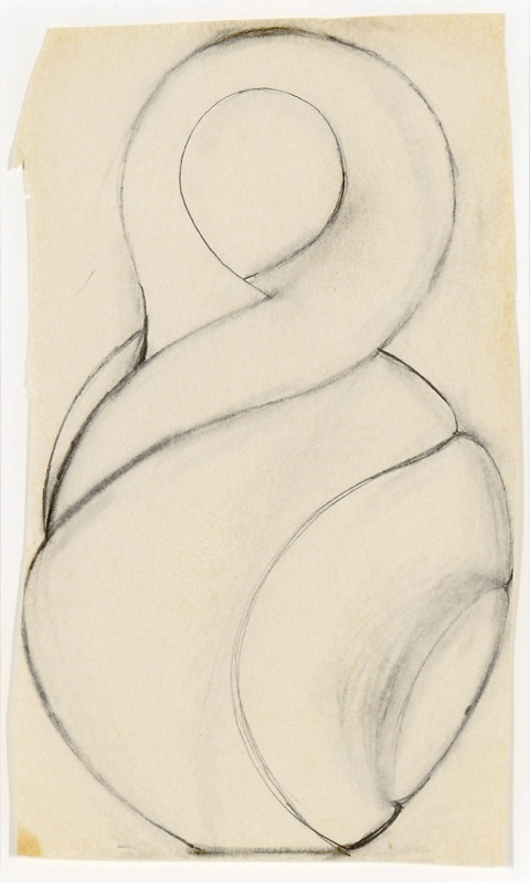 Christine Nofchissey McHorse, Untitled Drawing (Twist), 2000