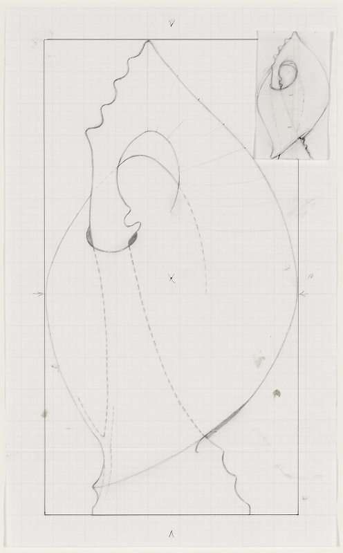 Christine Nofchissey McHorse, Untitled Drawing (Robster Claw), 2016