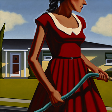 Kenton Nelson, Taming Nature, 2014