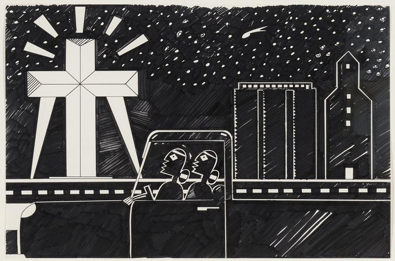 Diego Romero, Texas Cross, 2004