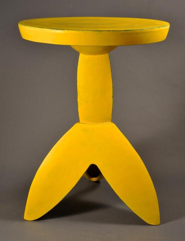 Doug Herren, Yellow Table Stand, 2016