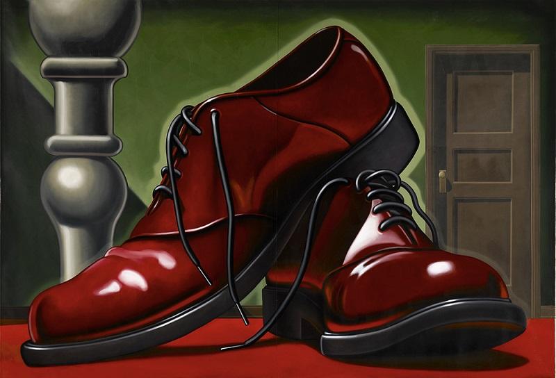 Kenton Nelson, Big Shoes, 2011