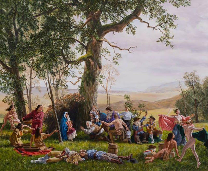 Kent Monkman, A Child is Born, 2017