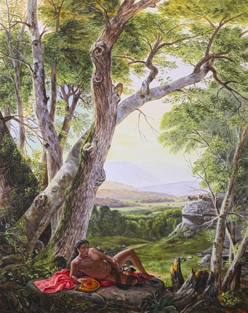 Kent Monkman, The Allegory of Painting, 2015