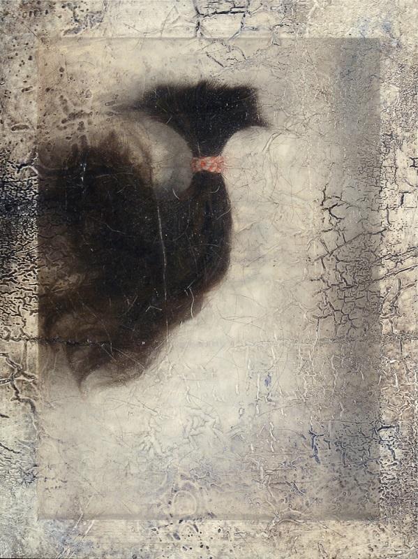 Sonya Kelliher-Combs, Remnant (Dark Human Hair), 2016
