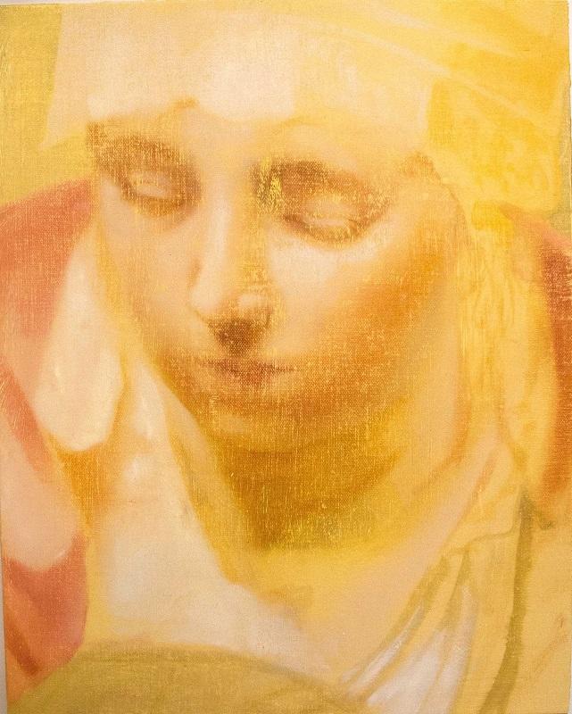 Angela Fraleigh, Morning hush, 2014