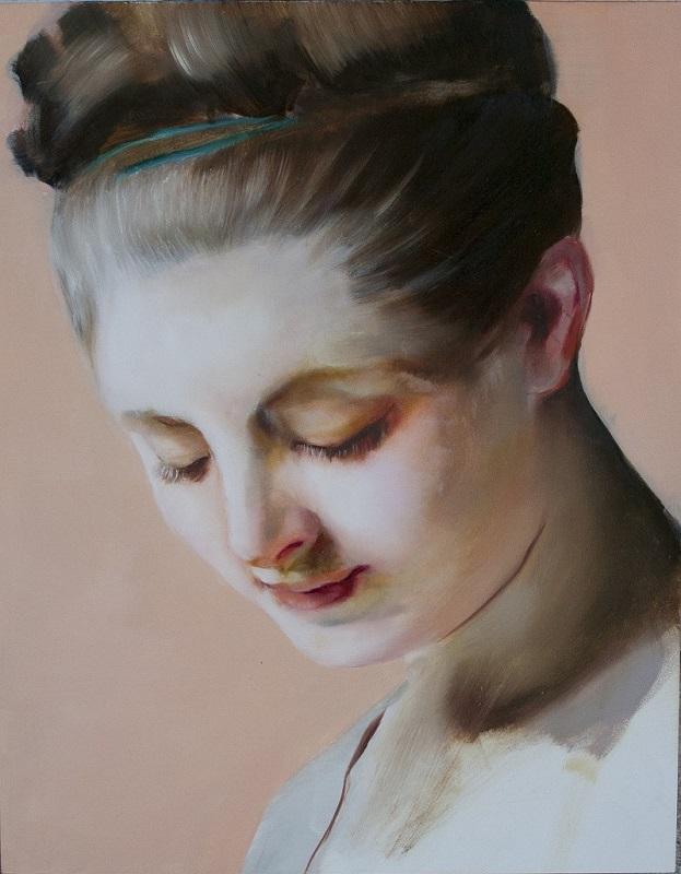 Angela Fraleigh, Shedding light, 2015