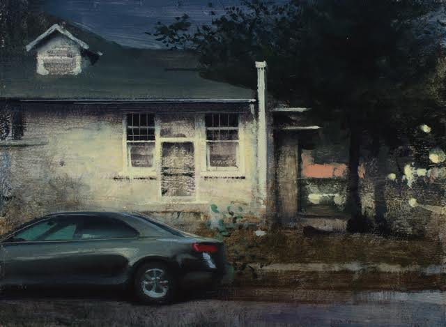 Daniel Sprick,  White House and Parked Car, 2015
