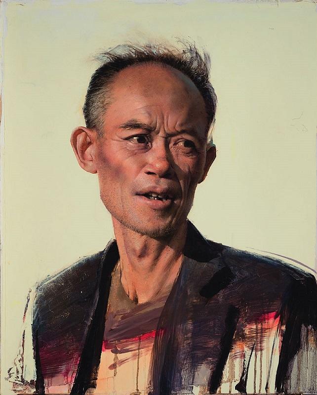 Daniel Sprick,  Beijing Man, 2013