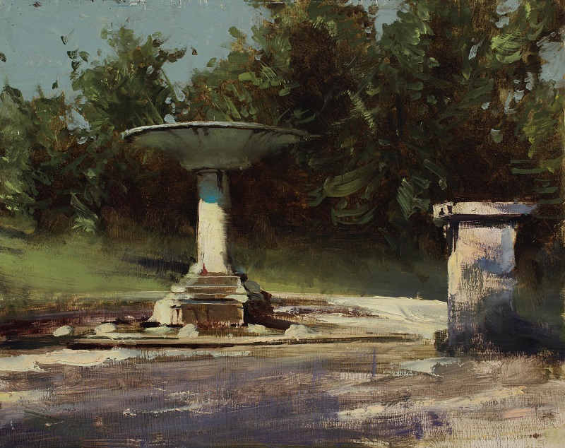 Daniel Sprick,  Fountains of Rome, 2015