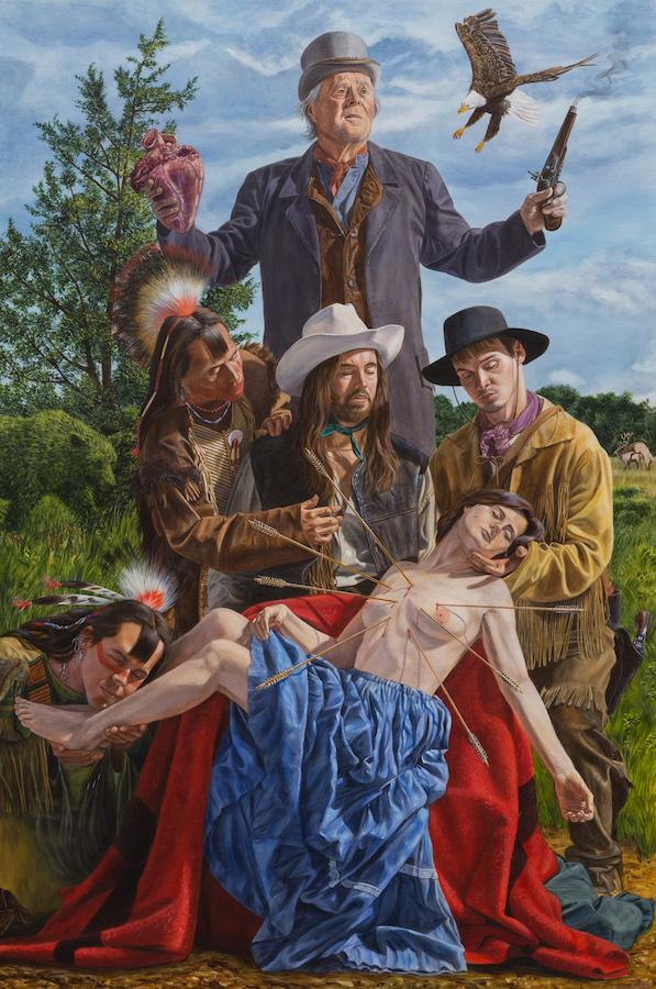 Kent Monkman, Our Lady of Sorrows, 2017
